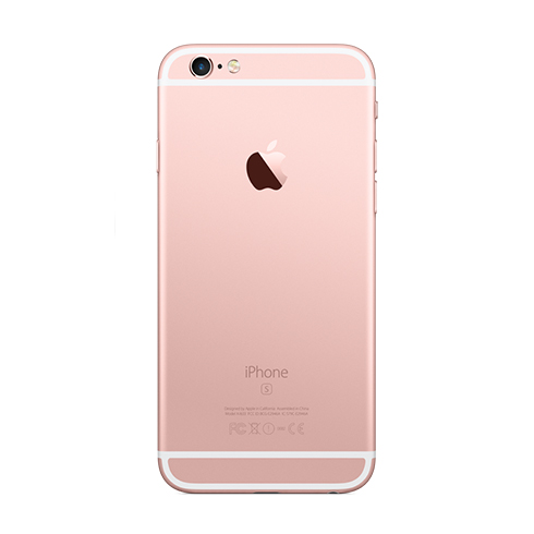 apple iphone 6s 16gb rose gold istores apple premium. Black Bedroom Furniture Sets. Home Design Ideas